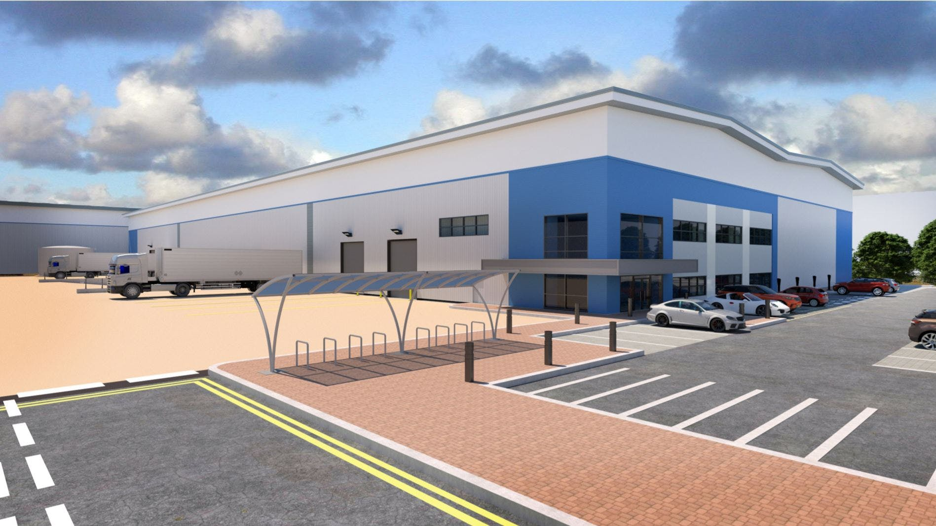 LEDP, Leicester, Distribution Warehouse To Let - Image 2.JPG