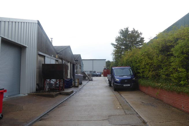 Units 26 & 27 - Raynham Industrial Estate, Raynham Road, Bishop Stortford, Warehouse & Industrial To Let - Service_yard.JPG