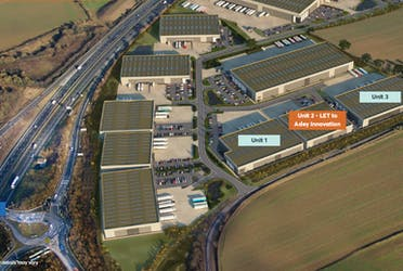St Modwen Park Gloucester, Off Stonehouse, Gloucester, Industrial To Let - Ariel image.PNG - More details and enquiries about this property