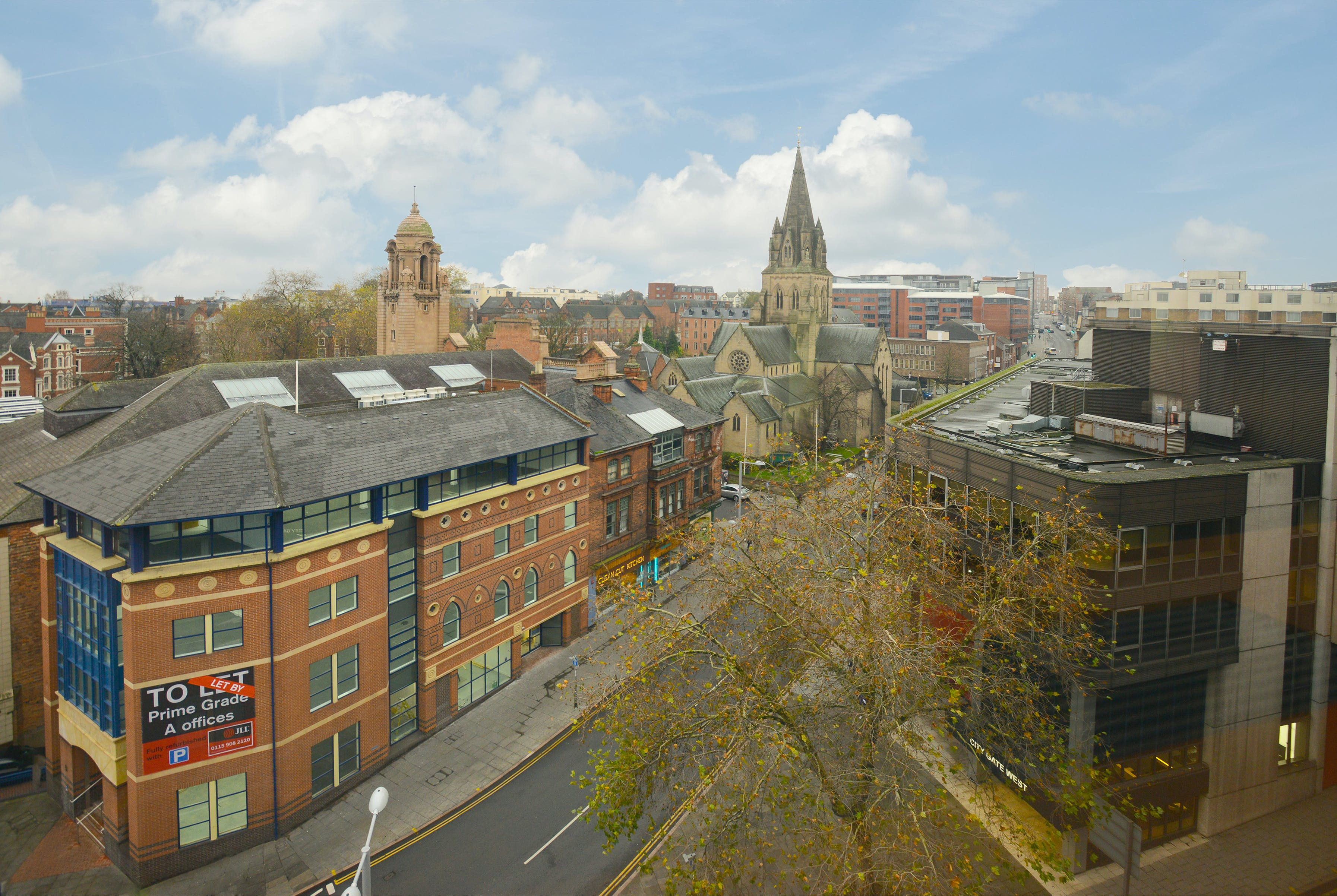 East West Building, Nottingham, Office To Let - views out of top floor.jpg