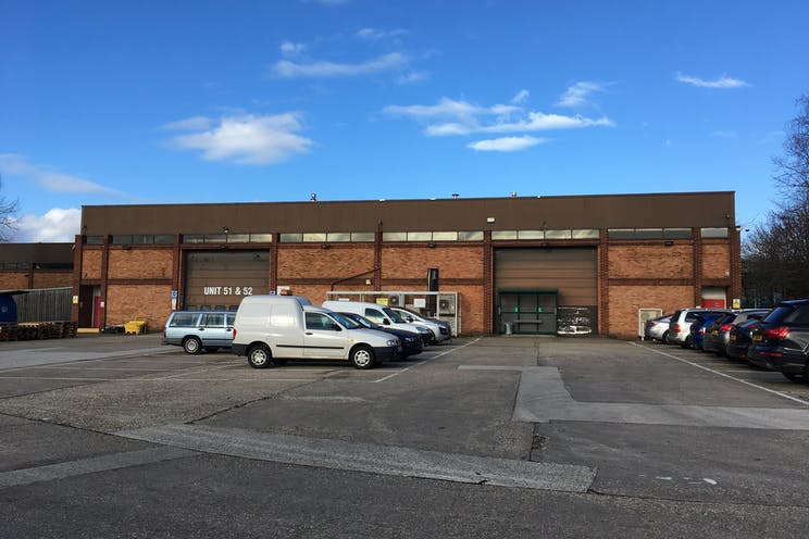 Units 51/52 Suttons Business Park, Reading, Industrial To Let - Unit 51 52 Rear Loading Area