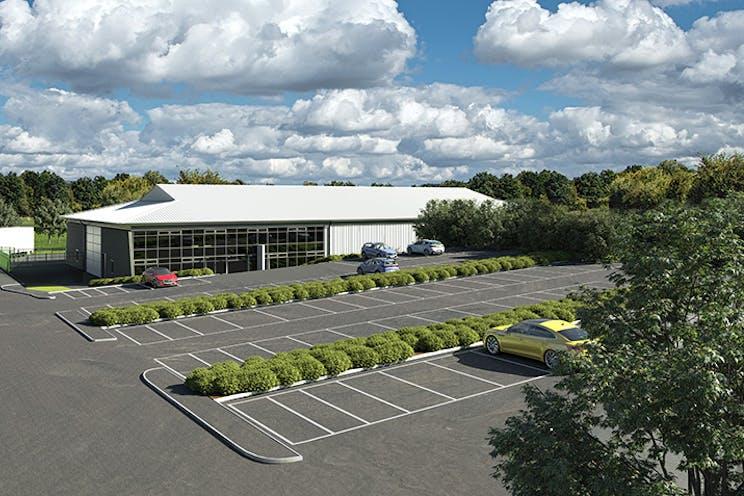 Xpanse 22, Waterside Park, Bracknell, Industrial To Let / For Sale - BrookHouseFront_revised_LR.jpg