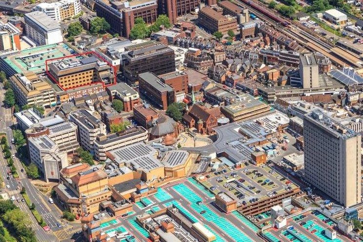 Hollywood House, Church Street East, Woking, Offices To Let - aerial photo