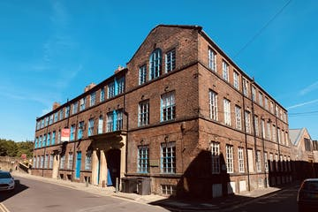 Wharncliffe Works: Front Office, 86 Green Lane, Sheffield, Offices To Let - Wharncliffe - Sunshine Photo.jpg