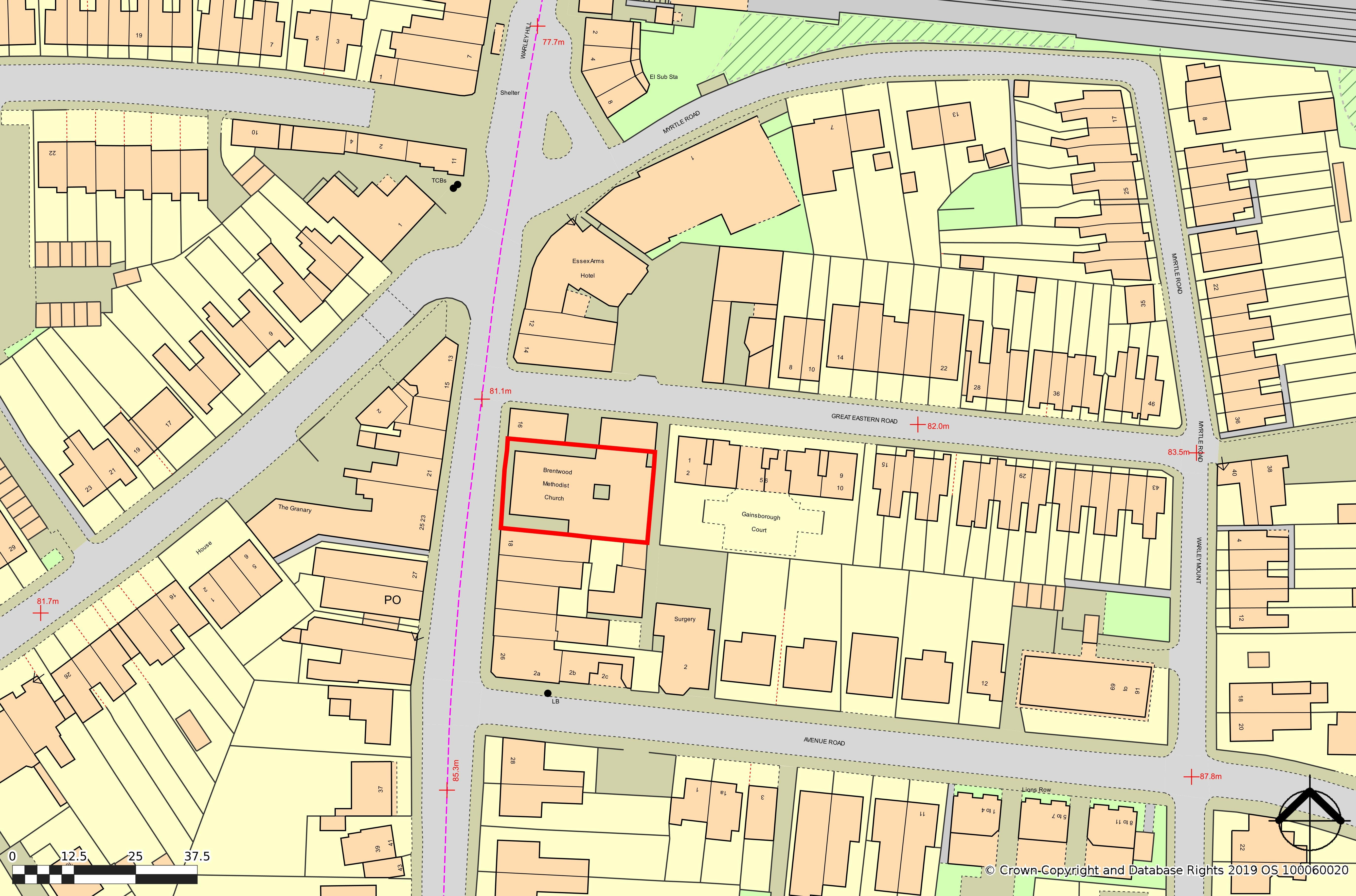 Brentwood Methodist Church, Warley Hill, Brentwood, Development (Land & Buildings) / Offices / Suis Generis (other) / Restaurant / Retail For Sale - brentwoodmethodistchurchwarleyhillwarleybrentwoodcm145ha.jpg