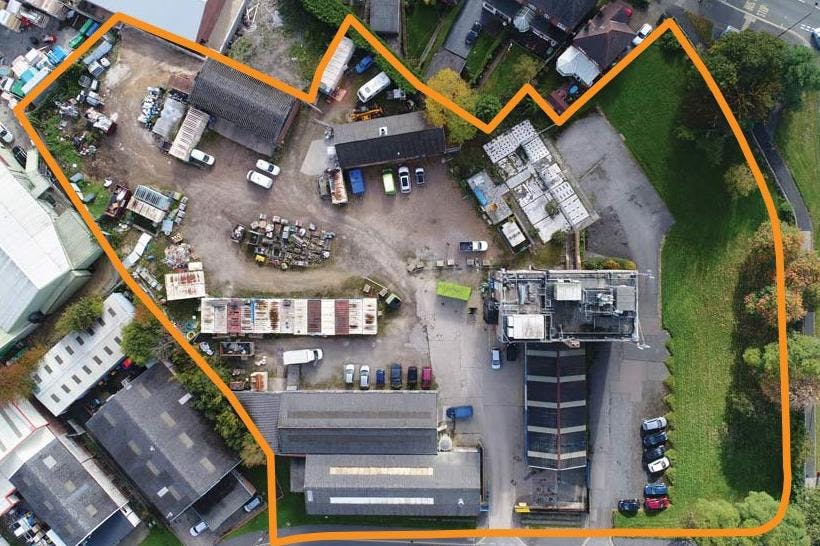 2 Rotherham Road, Sheffield, Offices / Warehouse & Industrial / Development (Land & Buildings) / Investments For Sale - Aerial plan.jpg