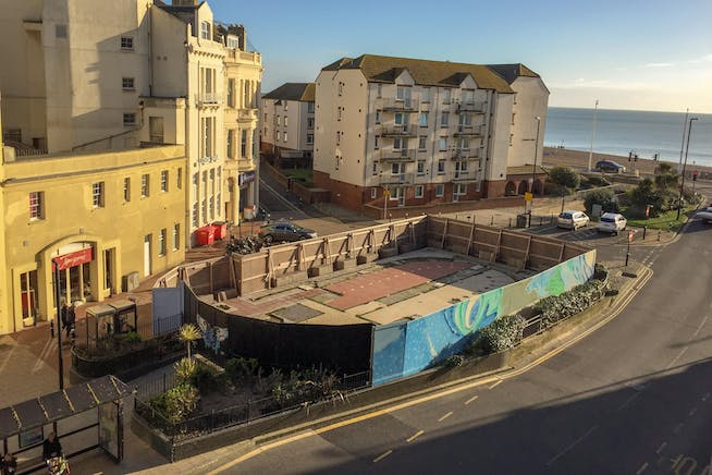 Site At Harold Place, Hastings, Retail / Leisure / Land To Let - Enhanced photo.jpg