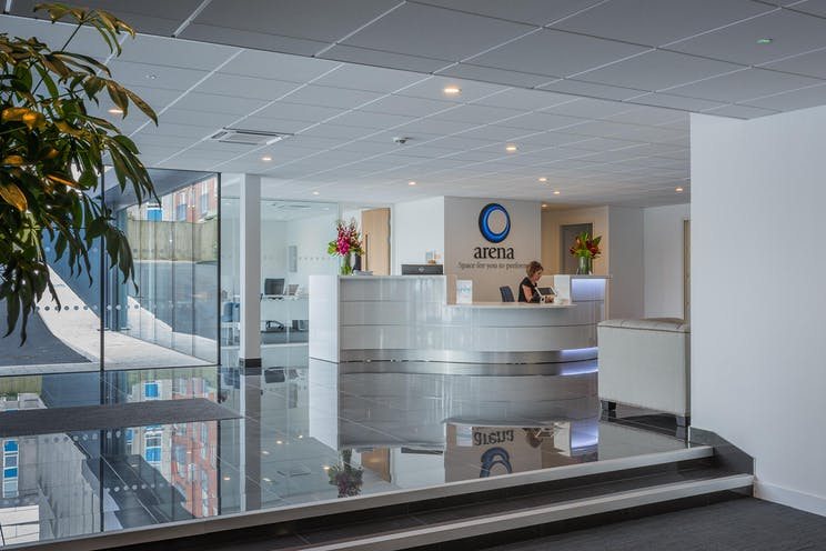 Arena Business Centre, Abbey House, Farnborough, Offices To Let - Reception