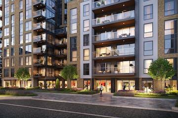 Battersea Reach (Blocks K&L), Juniper Drive, London, Offices To Let - External  CGI (1)