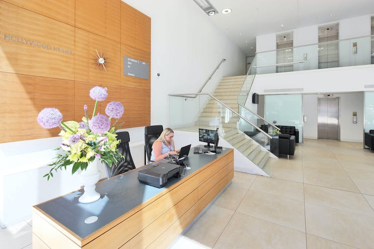 Hollywood House, Church Street East, Woking, Offices To Let - A Reception 1.jpg