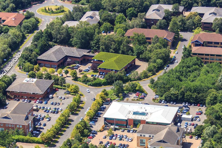 Sentinel House, Fleet, Offices To Let - Aerial
