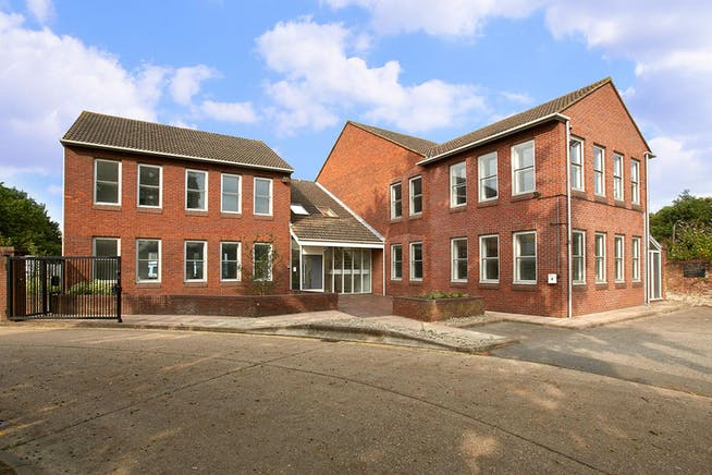 Towergate House, Wintersells Road, Byfleet, Offices To Let / For Sale - CM0B4055 with sky.jpg