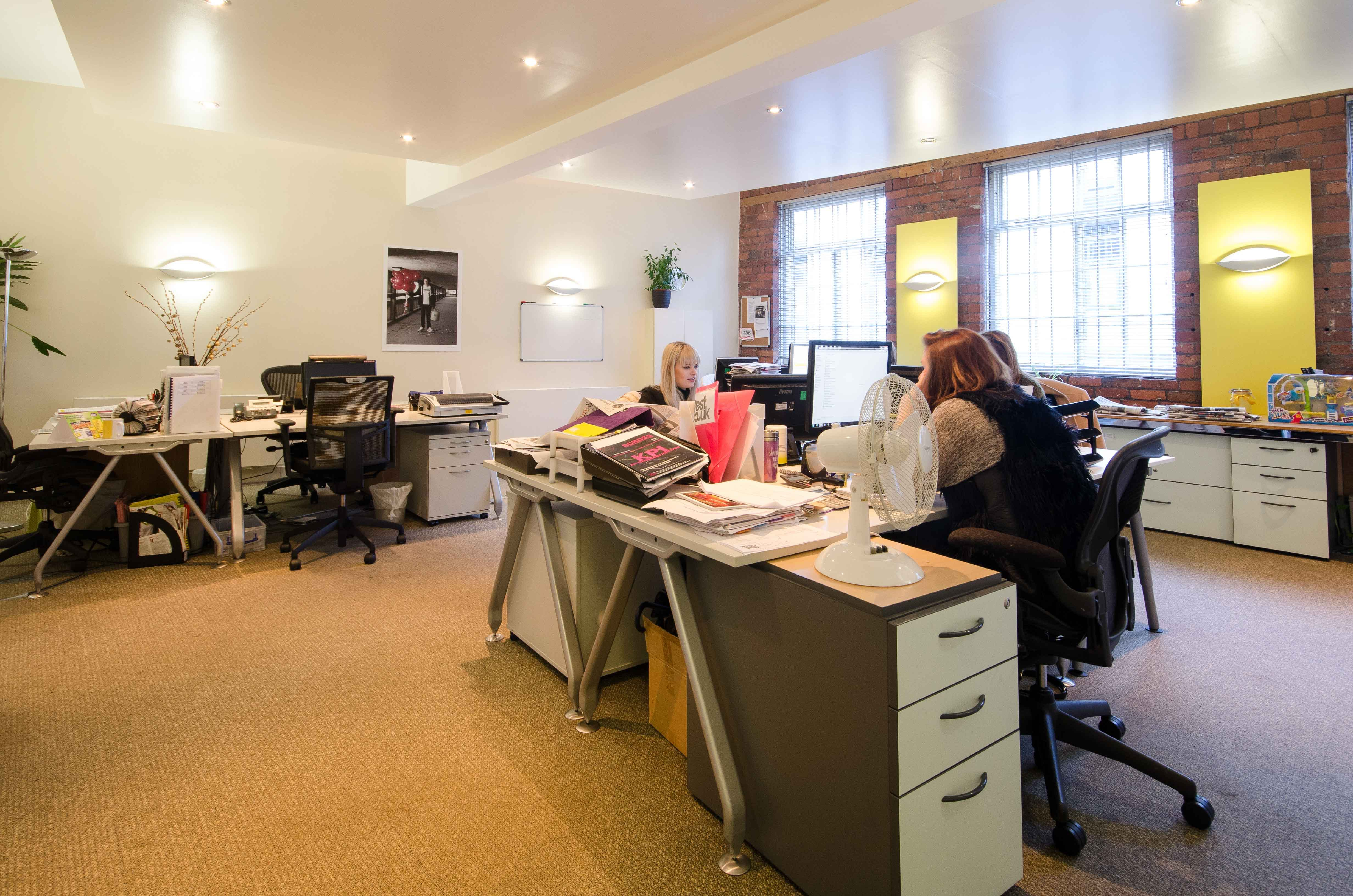 Brooklyn Works, Sheffield, Offices To Let - internal - office 3