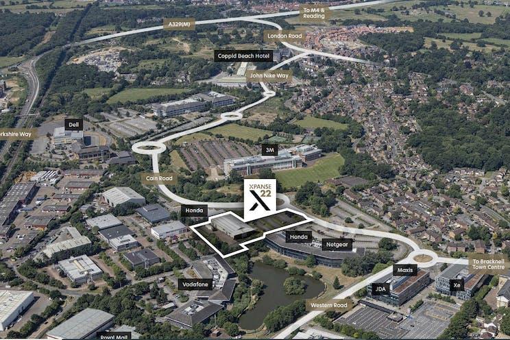 Xpanse 22, Waterside Park, Bracknell, Industrial To Let / For Sale - Location Plan.jpg