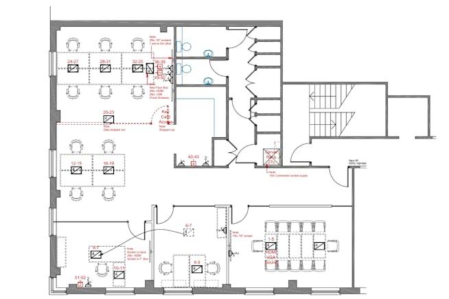 17 Duke of York Street, London, Office To Let - 4th floor plan.PNG