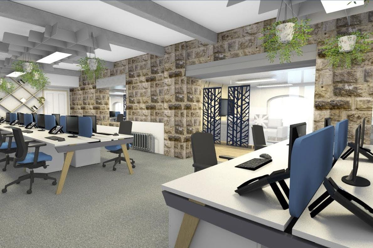 Globe Works Lower Ground Floor, Sheffield, Offices To Let - Globe GF (4).jpg