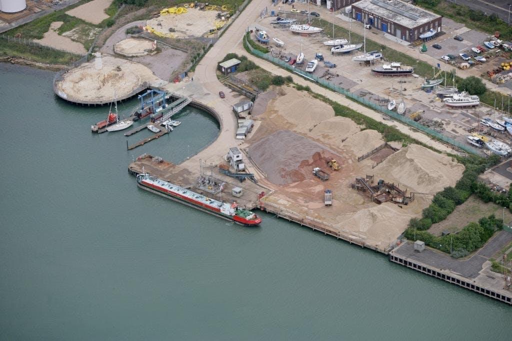 Waterfront Storage Land - Kingston Wharf, East Cowes