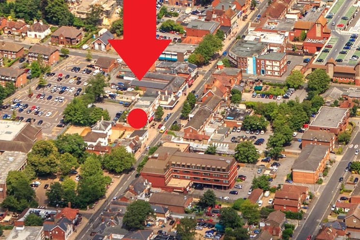 218 Fleet Road, Fleet, Investment Property For Sale - 218 fleet road aerial 2.jpg