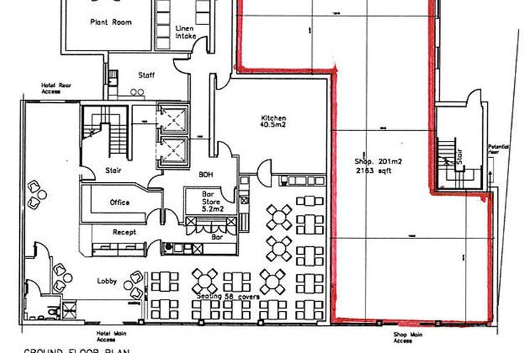 12-16 High Street, Gosport, Retail To Let - Shop Floor Plan.JPG