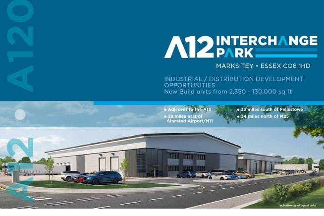 A12 Interchange Park, Marks Tey, Distribution Warehouse To Let / For Sale - A12 INTERCHANGE.JPG