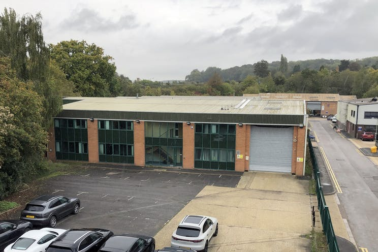 Unit 1, Pincents Kiln Industrial Park, Reading, Industrial To Let - Unit 1 High level photos.jpg