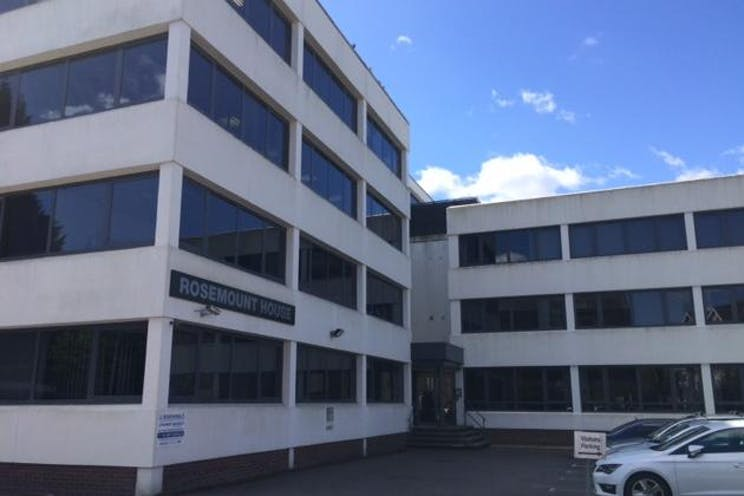 Ground Floor Offices - Rosemount House, Rosemount Avenue, West Byfleet, Offices To Let - rosemount 2015 external.JPG