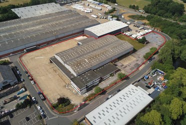 Unit 1 Riverside Estate, London Colney, St Albans, Industrial To Let - Mailchimp aerial.png - More details and enquiries about this property