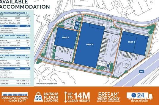 St Modwen Park, Jays Close, Basingstoke, Warehouse & Industrial To Let - Plan.jpg