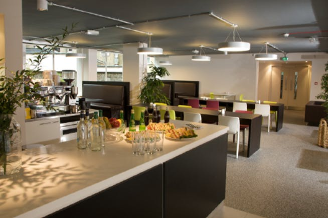 Riverbank House, Pavilion, Fulham Green, London, Offices To Let - Cafe.PNG