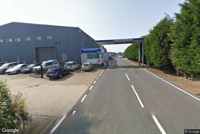 Lympne Distribution Park, Otterpool Lane, Hythe, Warehouse / Industrial To Let - Image from Google Street View - 210