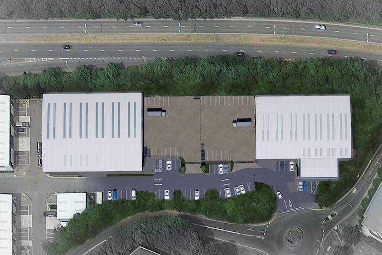 Unit 1 Total Park, Theale, Reading, Industrial To Let / For Sale - 19011-C4P-AV-ZZ-VS-A-0004.jpg