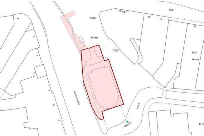 Site At Harold Place, Hastings, Retail / Leisure / Land To Let - Plan.JPG