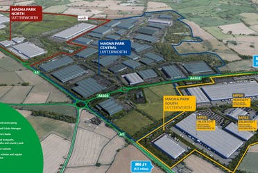 Magna Park Lutterworth, BTS Options, Lutterworth, Industrial To Let - mplaerial2.png - More details and enquiries about this property