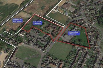 Kiln Court and Osborne Court, Lower Road, Faversham, Development For Sale - Front Plan for details.JPG