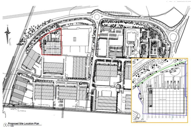 Willow 45, Castle Donington, Nottingham, Distribution Warehouse To Let - Willow Farm layout.JPG