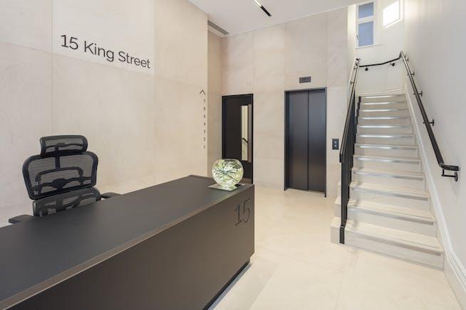 15 King Street, St James's, London, Office To Let - Reception-15-King-Street-St-Jamess.jpg