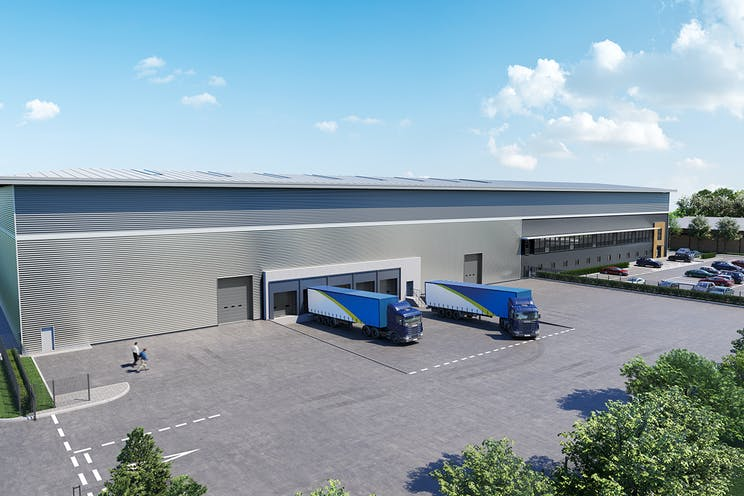 Suttons Central, Suttons Business Park, Reading, Industrial / Office To Let - Suttons Central CGI Image