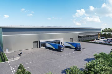 Suttons Central, Suttons Business Park, Reading, Industrial To Let - Suttons Central CGI Image