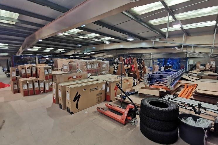 Unit 29 Barwell Business Park, Leatherhead Road, Chessington, Warehouse & Industrial To Let - Mezzanine.jpg