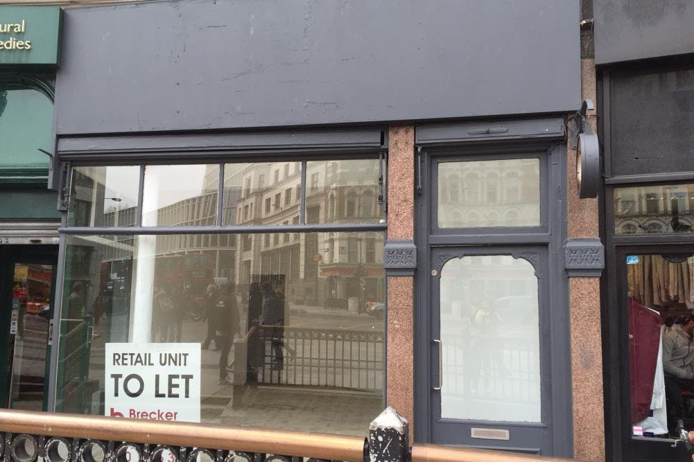 7 Ludgate Circus, City Of London, Retail To Let - 7 Ludgate Circus