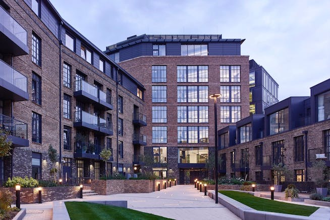 3 Valentine Place, London, Offices To Let - Courtyard