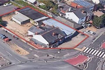 142-144, Whitley Wood Lane, Reading, Development For Sale - Aerial Photo.jpg