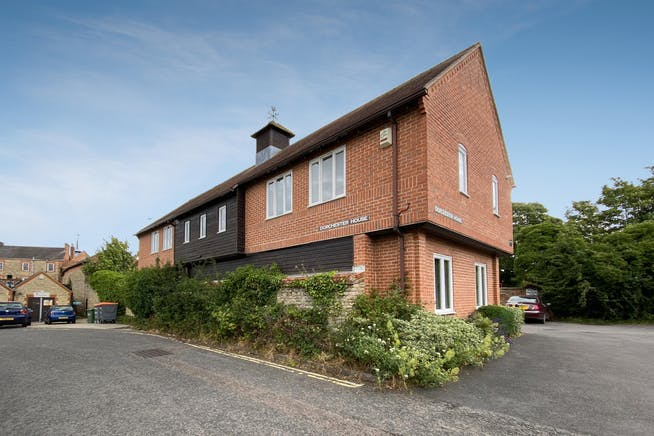 15 Dorchester Place, Thame, Office To Let - REAR 1.jpg