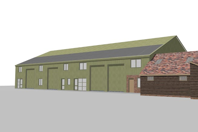 Industrial units, 68 Worminghall Road, Oakley, Industrial To Let - 1269 BC barn - South View3.jpg