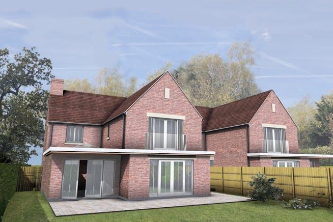 Development opportunity, Roundhill Cottages Kimblewick Road, Little Kimble, Land For Sale - CGI 2.jpg