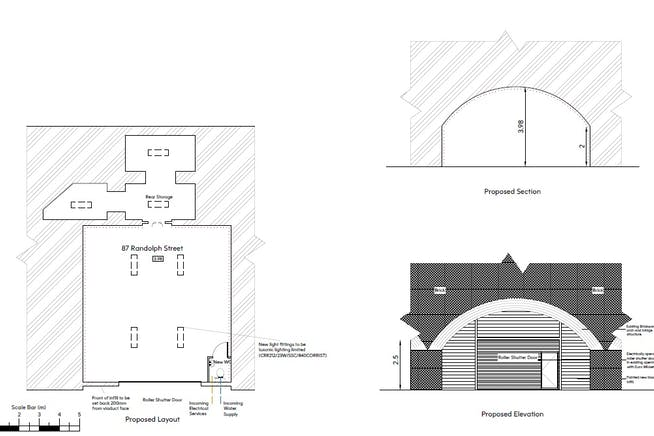 Arch 87 Randolph Street, Camden, Industrial / Leisure To Let - Arch 87 refurb.jpg