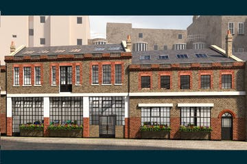 7-10 Beaumont Mews, London, Offices To Let - External CGI