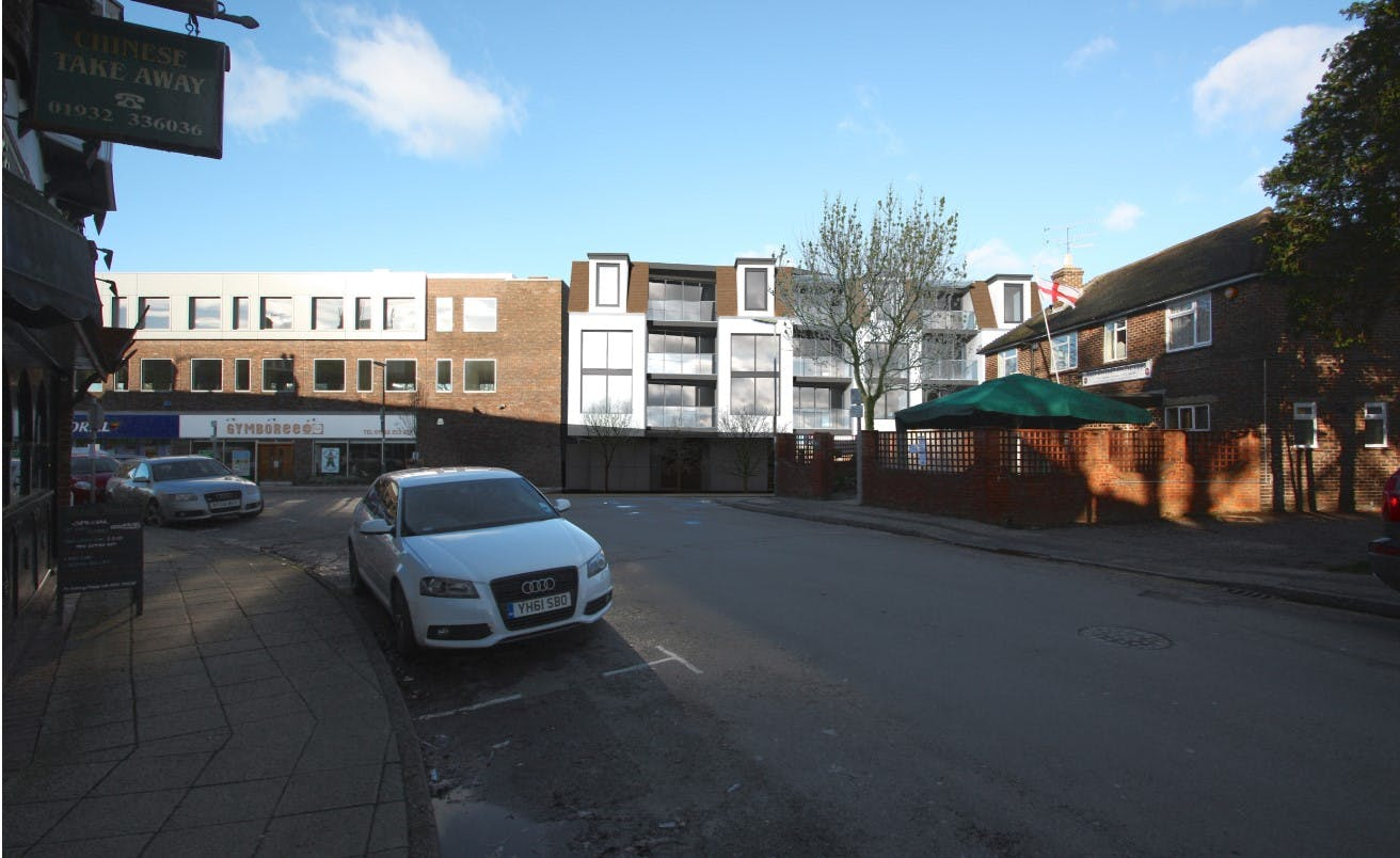 Commercial Units, 41B Station Approach, West Byfleet, Retail / Offices / Restaurant For Sale - Street View 2.jpg
