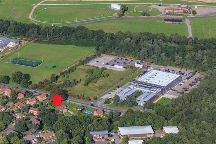 Beacon Point, Church Crookham, Fleet, Warehouse & Industrial, Offices To Let / For Sale - Aerial 2