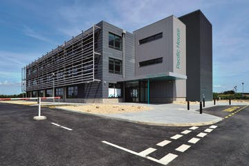 Unit 18e Pacific House, Sovereign Harbour Innovation Park, Eastbourne, Office To Let - Pacific House exterior 1.jpg